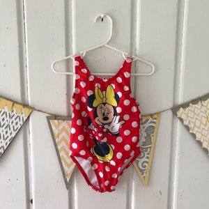 Disney Minnie Mouse One Piece Swimsuit